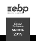 EBP - Éditeur Partenaire Certifié 2019