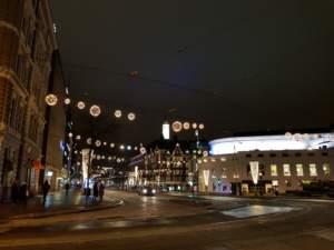 Rue en Finlande pour le Salon Slush