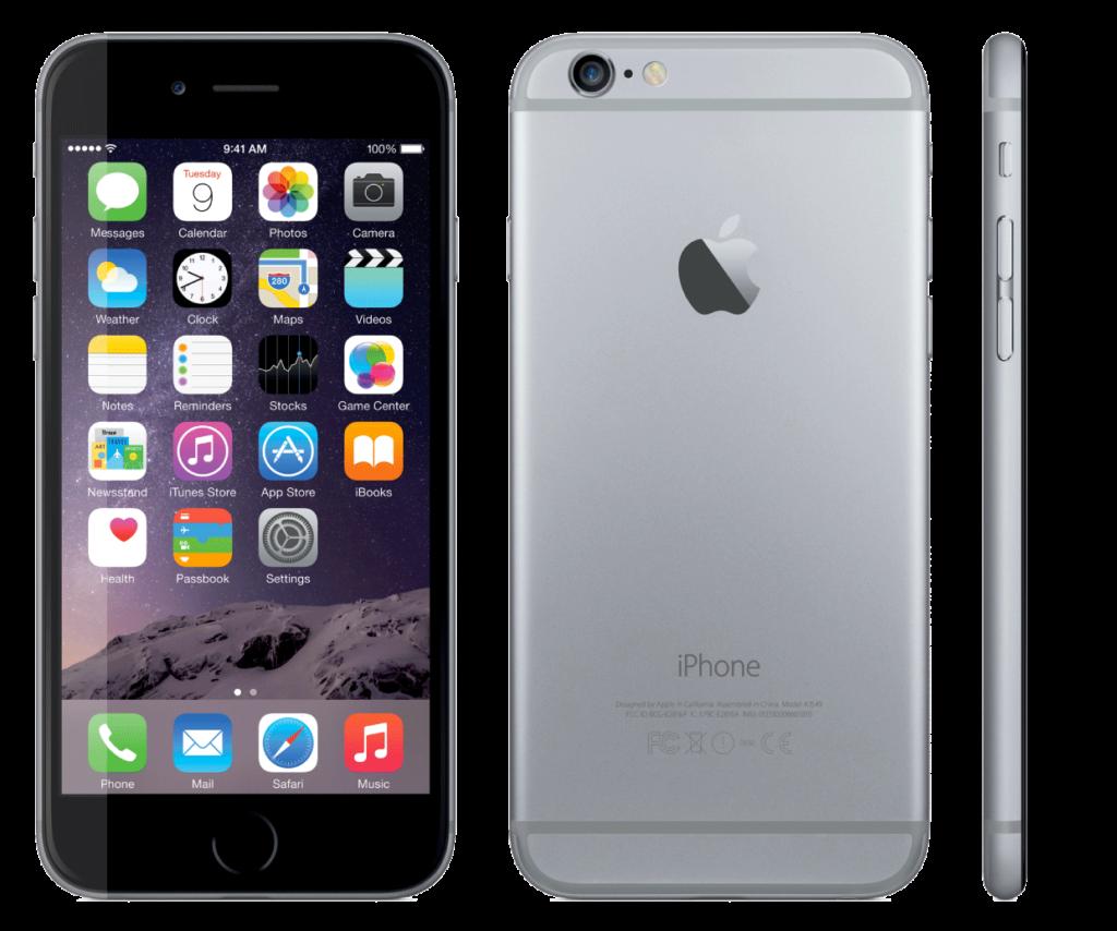 meilleurs smartphones et tablettes sous iOS iphone 6