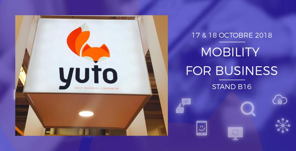 Yuto au salon de l'application mobile édition 2018 !