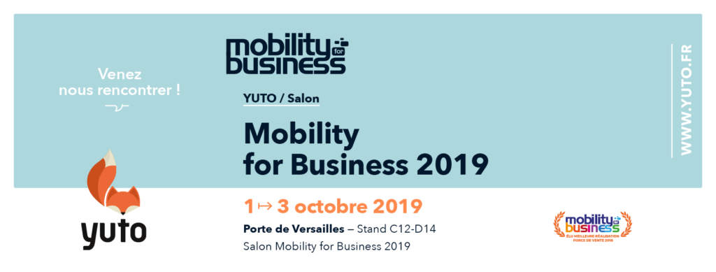 Mobility For Business 2019 : carrefour de la mobilité professionnelle